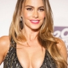 Sofia Vergara out of the party by the hand at Fox And FX's 2014 Golden Globe Awards Party