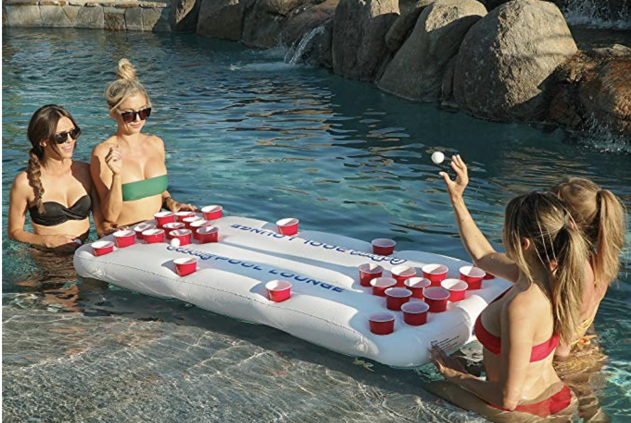 GoPong Beer Pong Inflatable Table