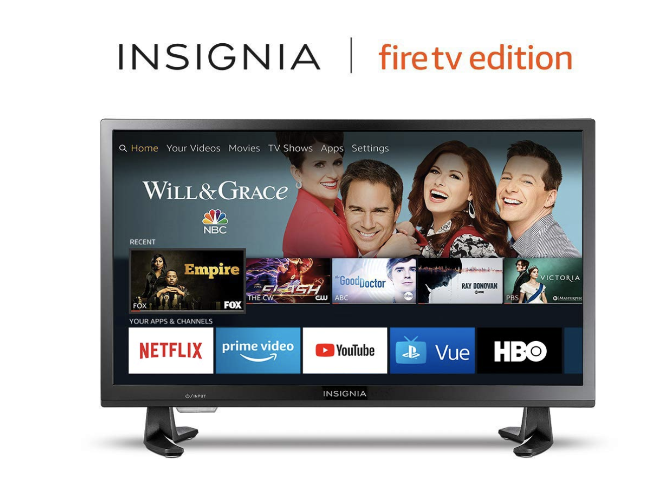 Insignia NS-24DF310NA19 24-inch 720p HD Smart LED TV-Fire TV Edition