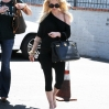 Ashlee Simpson is spotted on her way to 3rd Street Dance