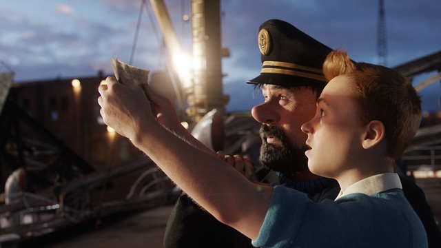 1. 'The Adventures of Tintin' (2011)