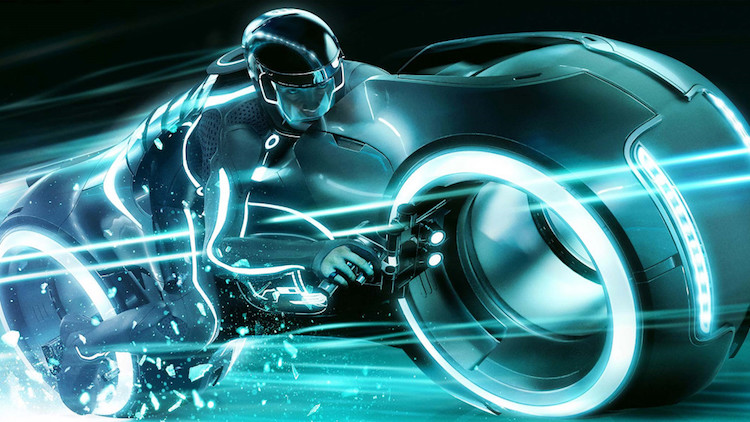 8. Light Cycle (Tron)