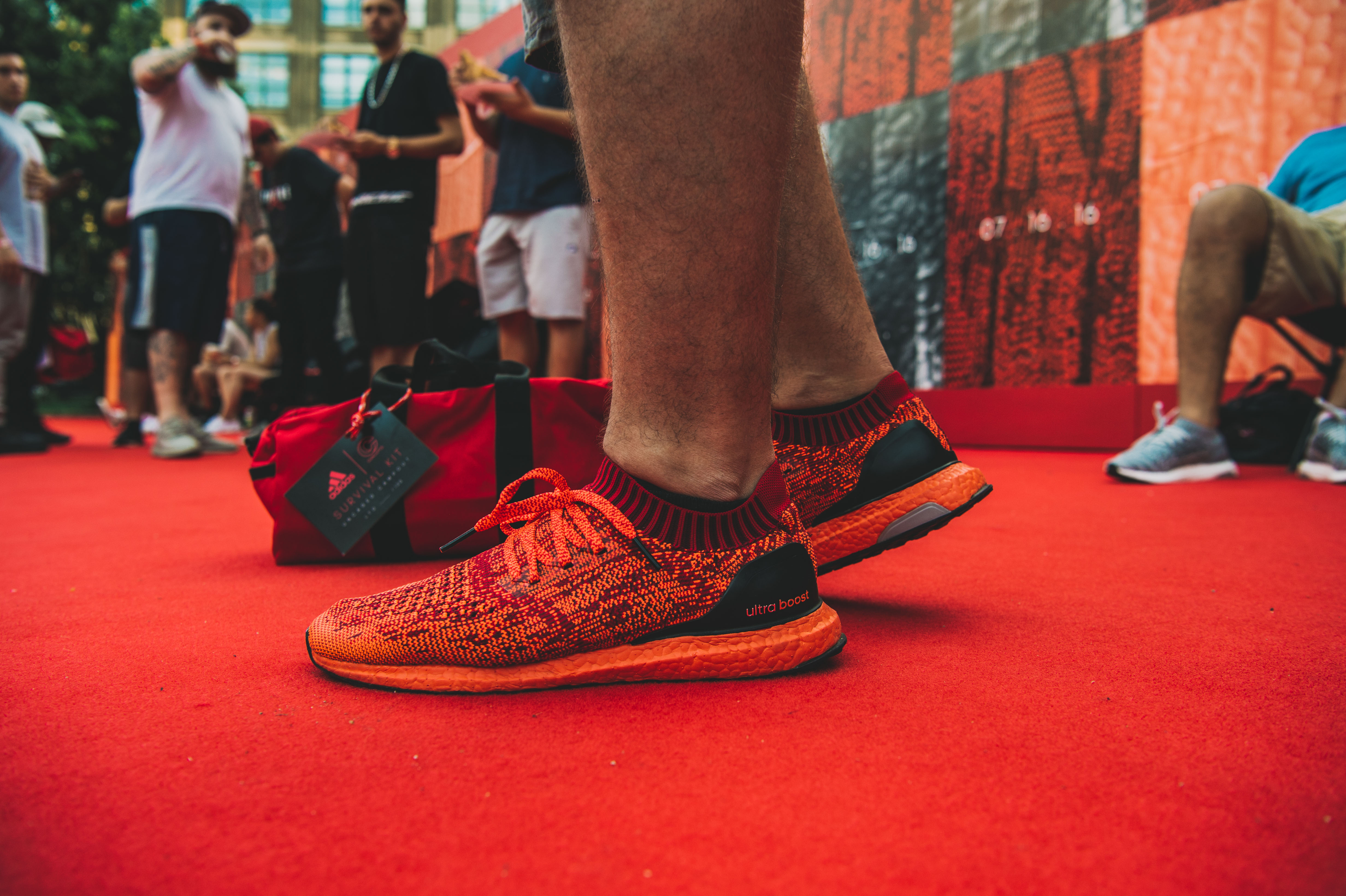 Adidas Uncaged Boost with Color