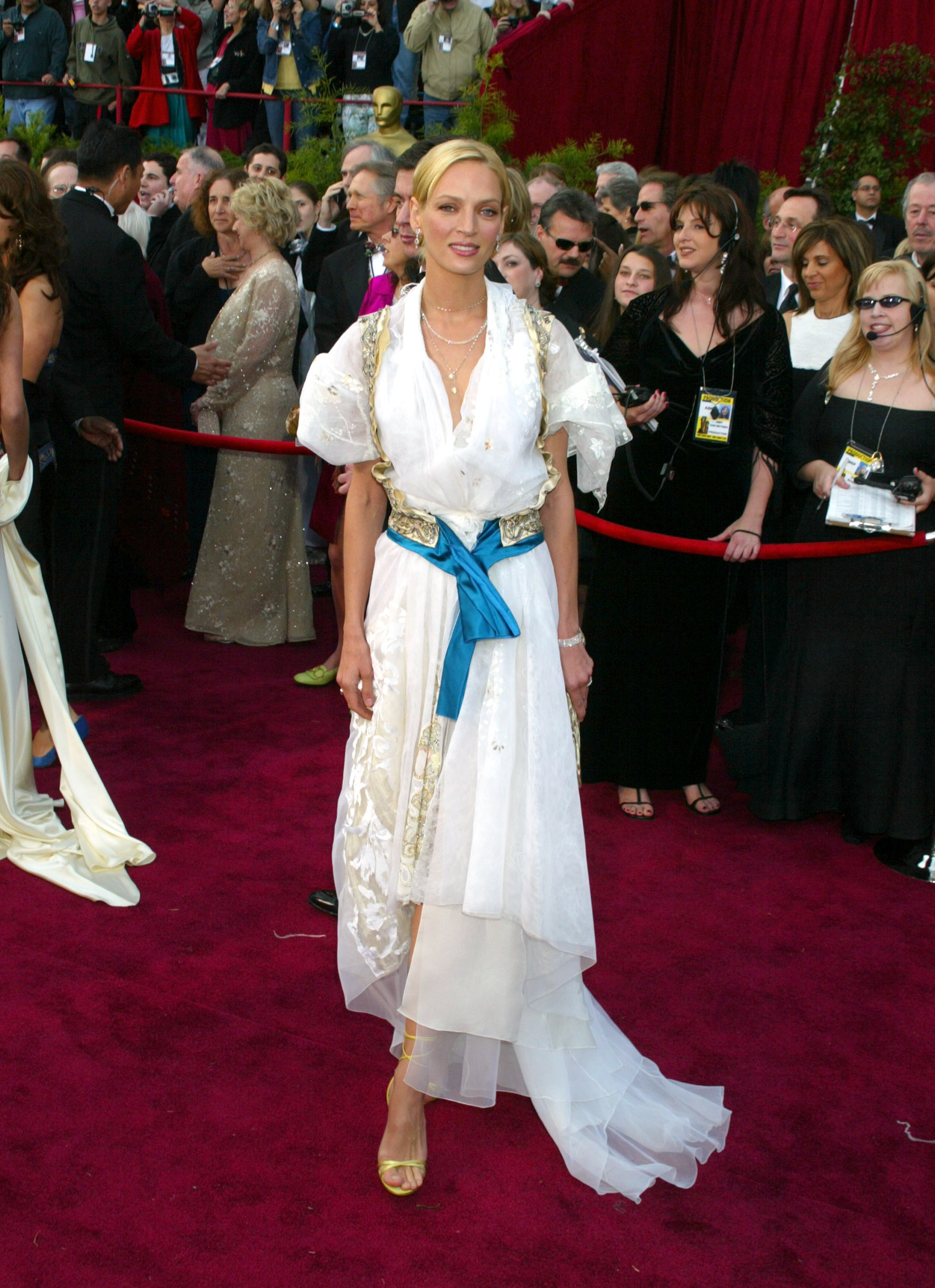 Uma Thurman - 2004 Academy Awards