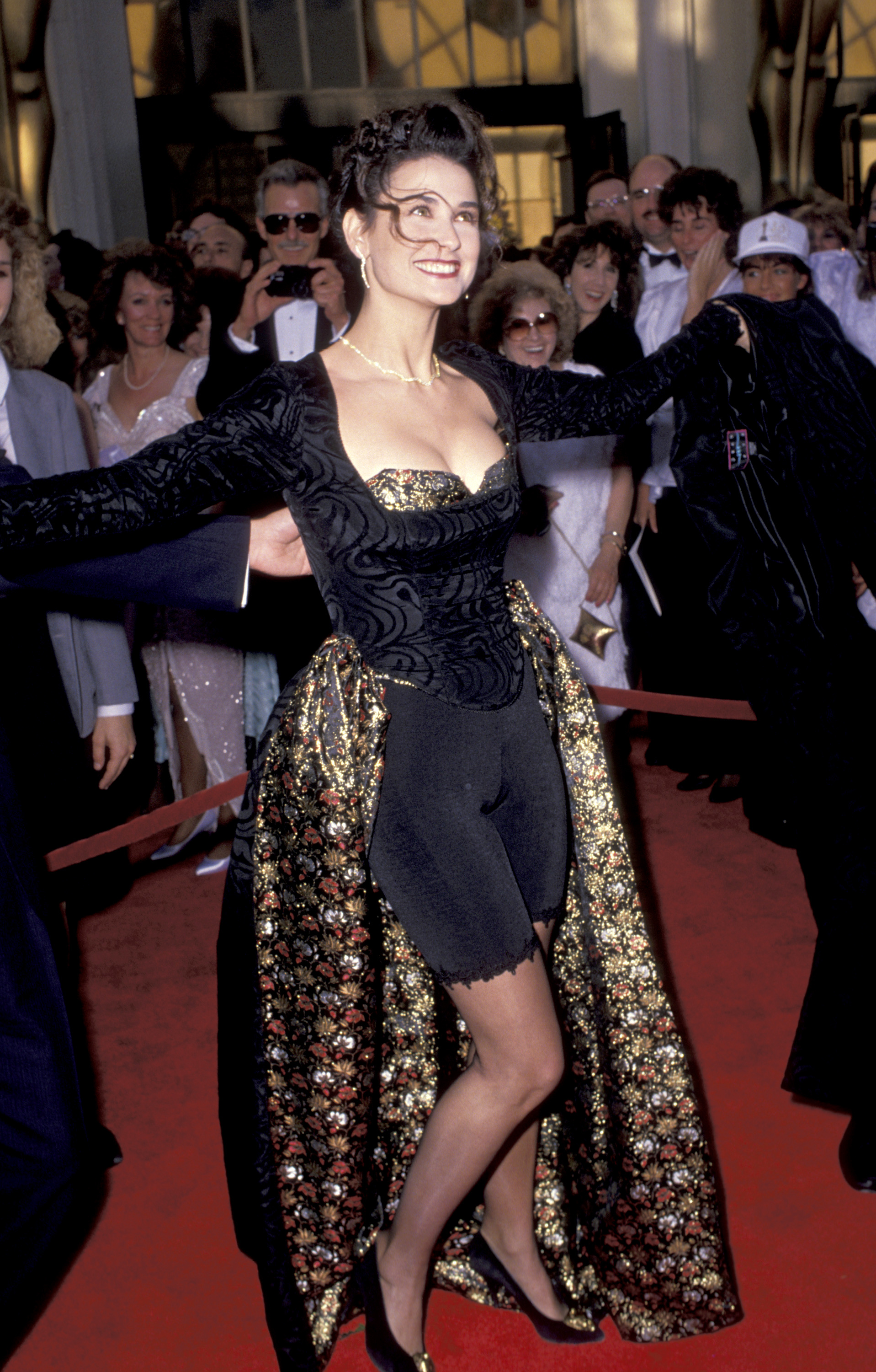 Demi Moore - 1989 Academy Awards
