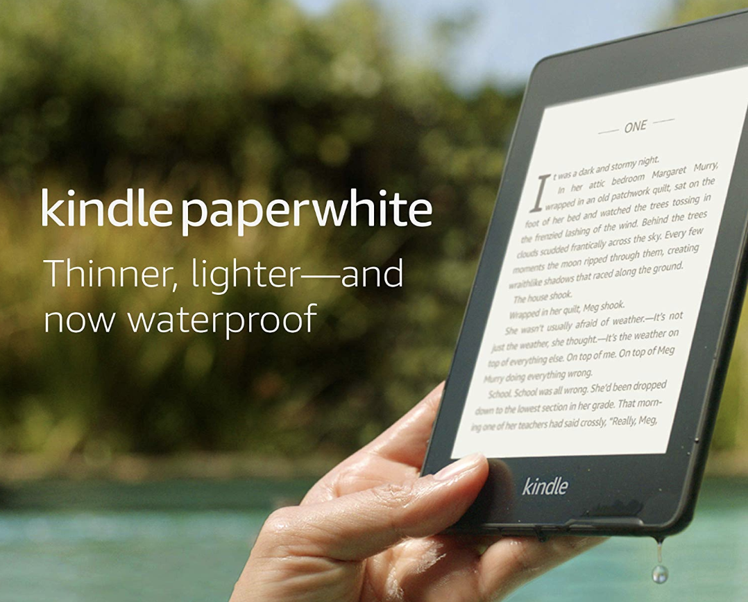 Kindle Paperwhite – Now Waterproof With 2x the Storage
