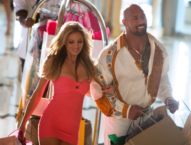 10. Dwayne Johnson, Pain & Gain