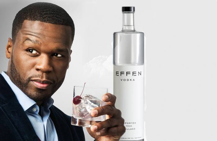 Effen Vodka - 50 Cent