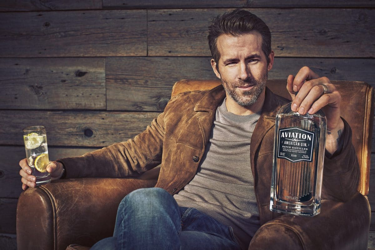 Aviation Gin - Ryan Reynolds