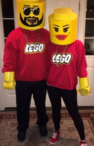 Lego Man and Woman