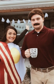 Bacon and Eggs and Ron Swanson From 'Parks and Recreation'