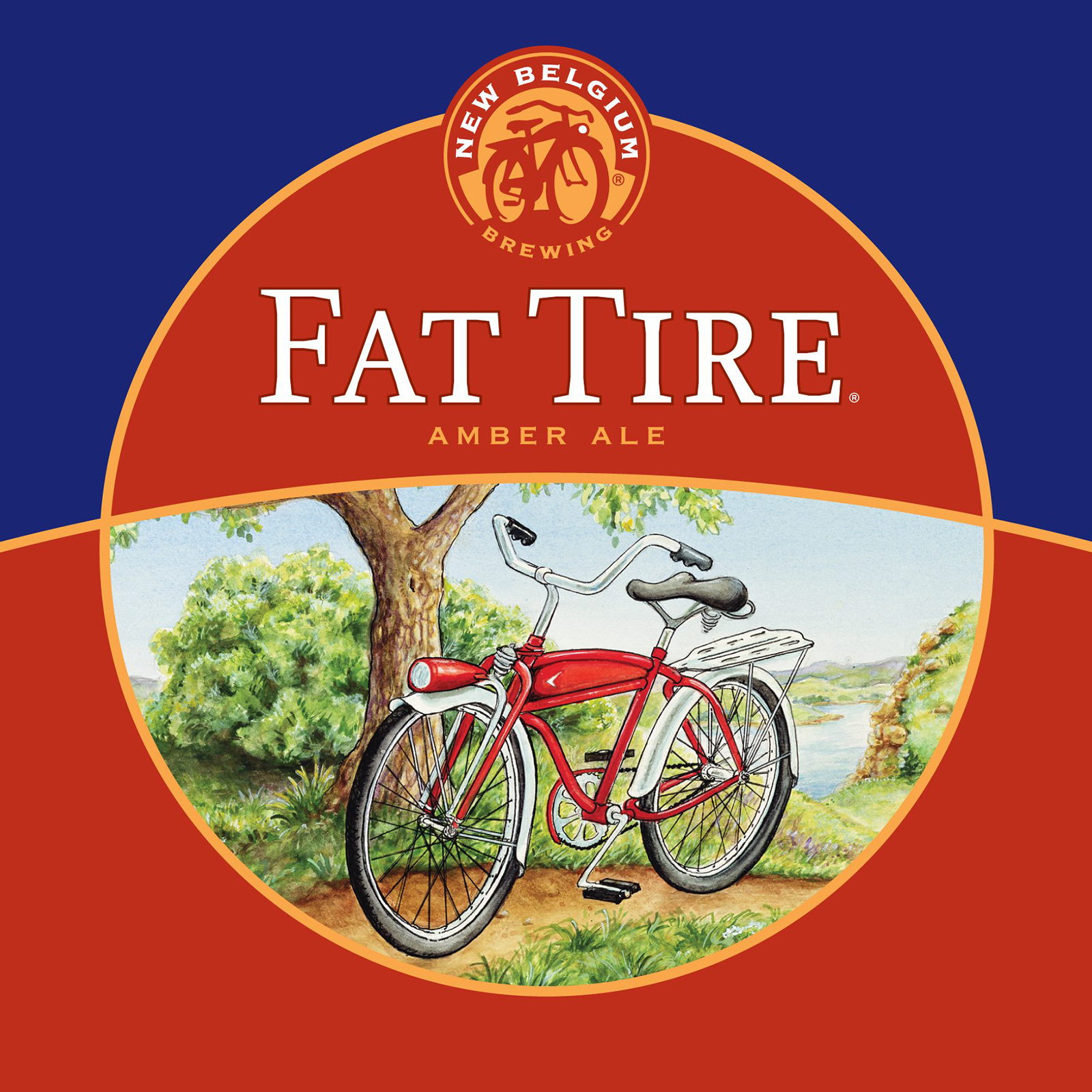 New Belgium's Fat Tire Amber Ale