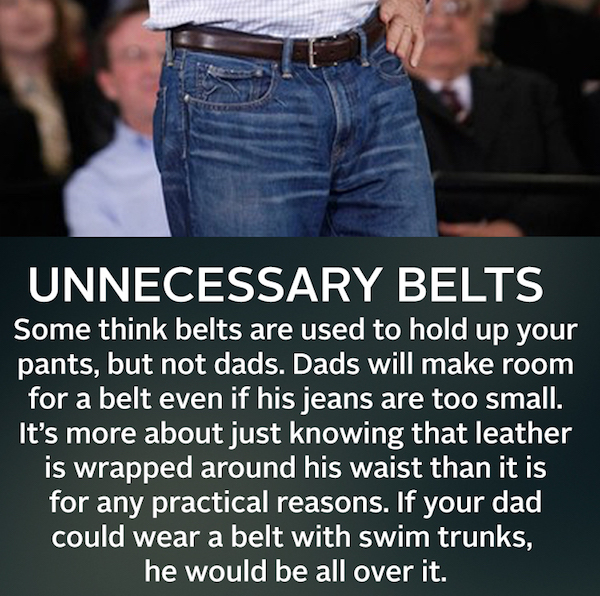 Unnecessary Belts