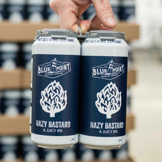 Thursday (Blue Point Hazy Bastard)