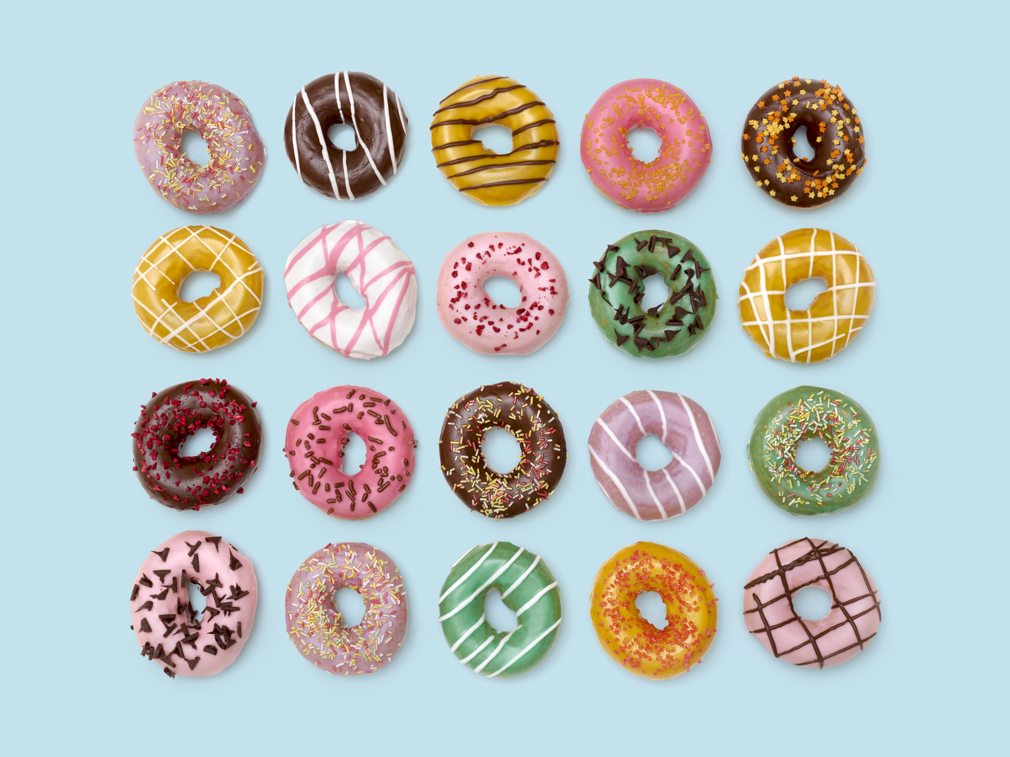 10. A Dozen (Or So) Doughnuts