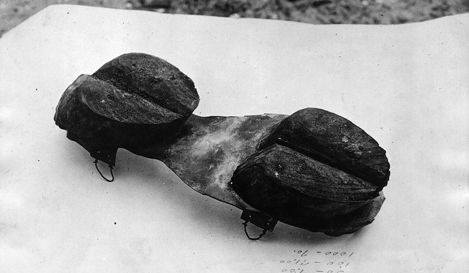 During Prohibition, moonshiners would wear 'cow shoes.'
