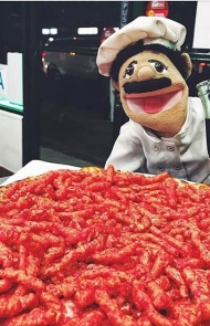 Flamin' Hot Cheetos Pizza