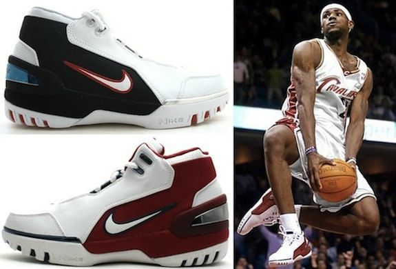 9. Nike Air Zoom Generation (Lebron James)