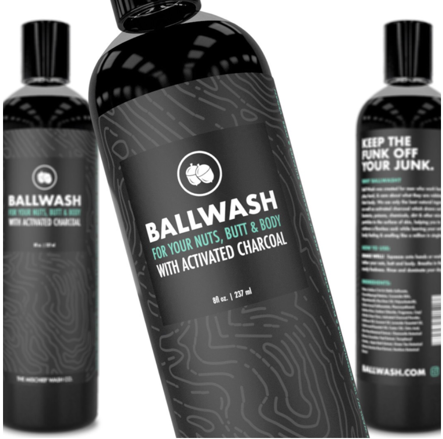 Ballsy Ballwash For Your Nuts, Butt And Body