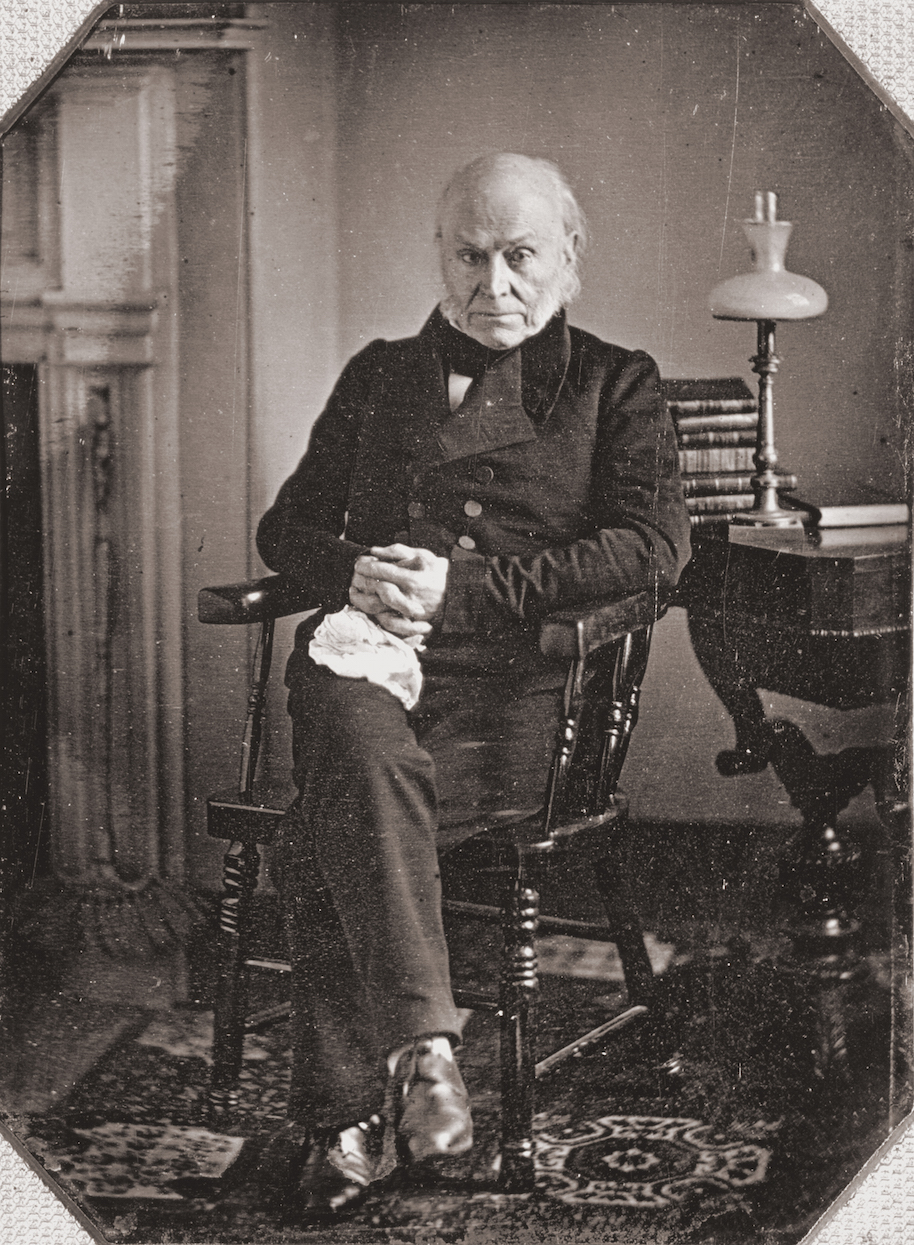 John Quincy Adams liked to go skinny dipping
