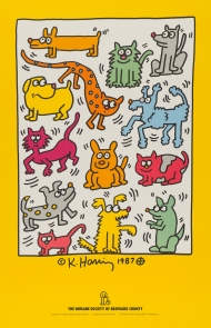 """""""Keith Haring: Posters"""" Exhibit and Book"""