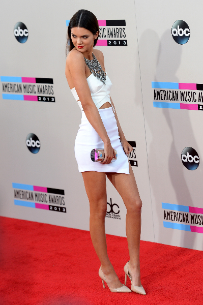 Model Kendall Jenner attends the 2013 American Music Awards