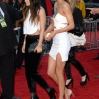 Television personalities Kendall Jenner (R) and Kylie Jenner attend the 2013 American Music Awards at Nokia Theatre