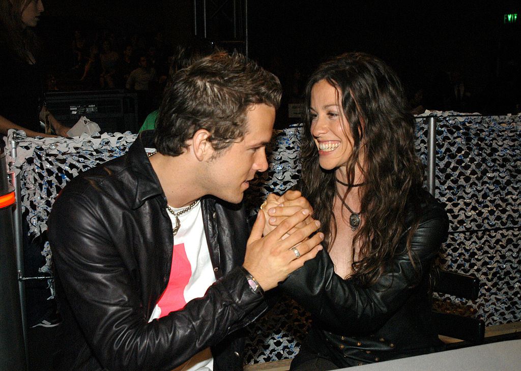 20. Ryan Reynolds and Alanis Morissette