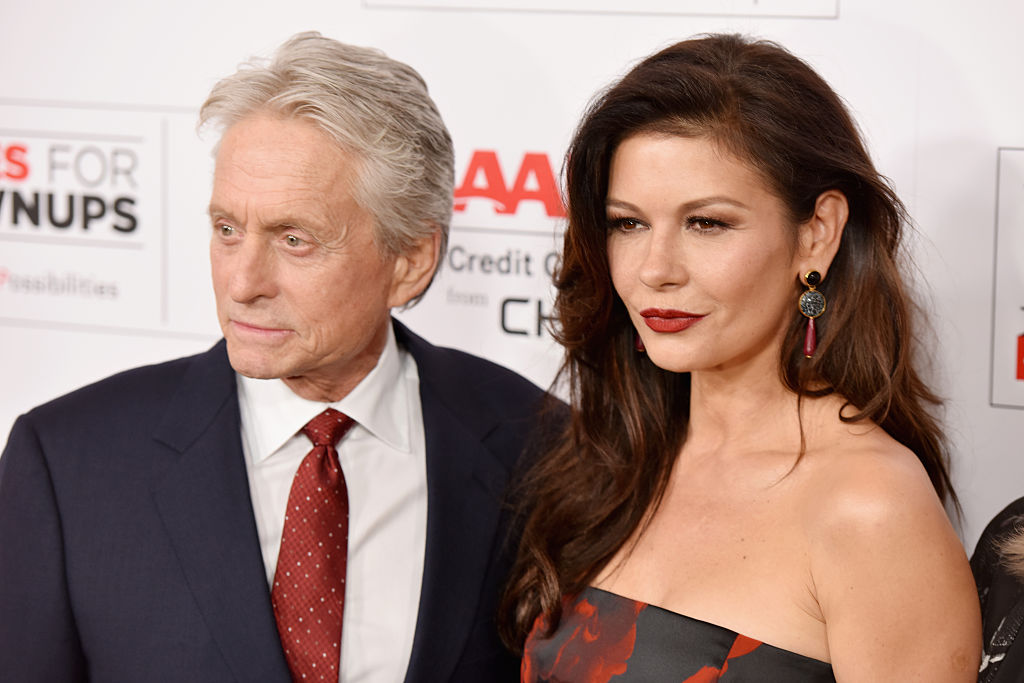 12. Michael Douglas and Catherine Zeta-Jones