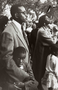 """""""Let Us March on: Lee Friedlander and the Prayer Pilgrimage for Freedom"""" Exhibit at Yale University Art Gallery"""