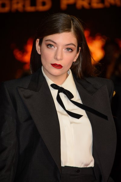 The Hunger Games: Mockingjay Part 1 World Premiere at Odeon Leicester Square - Arrivals Featuring: Lorde Where: London, United Kingdom When: 10 Nov 2014 Credit: Joe/WENN.com