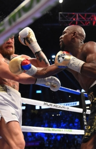 Mayweather lands another