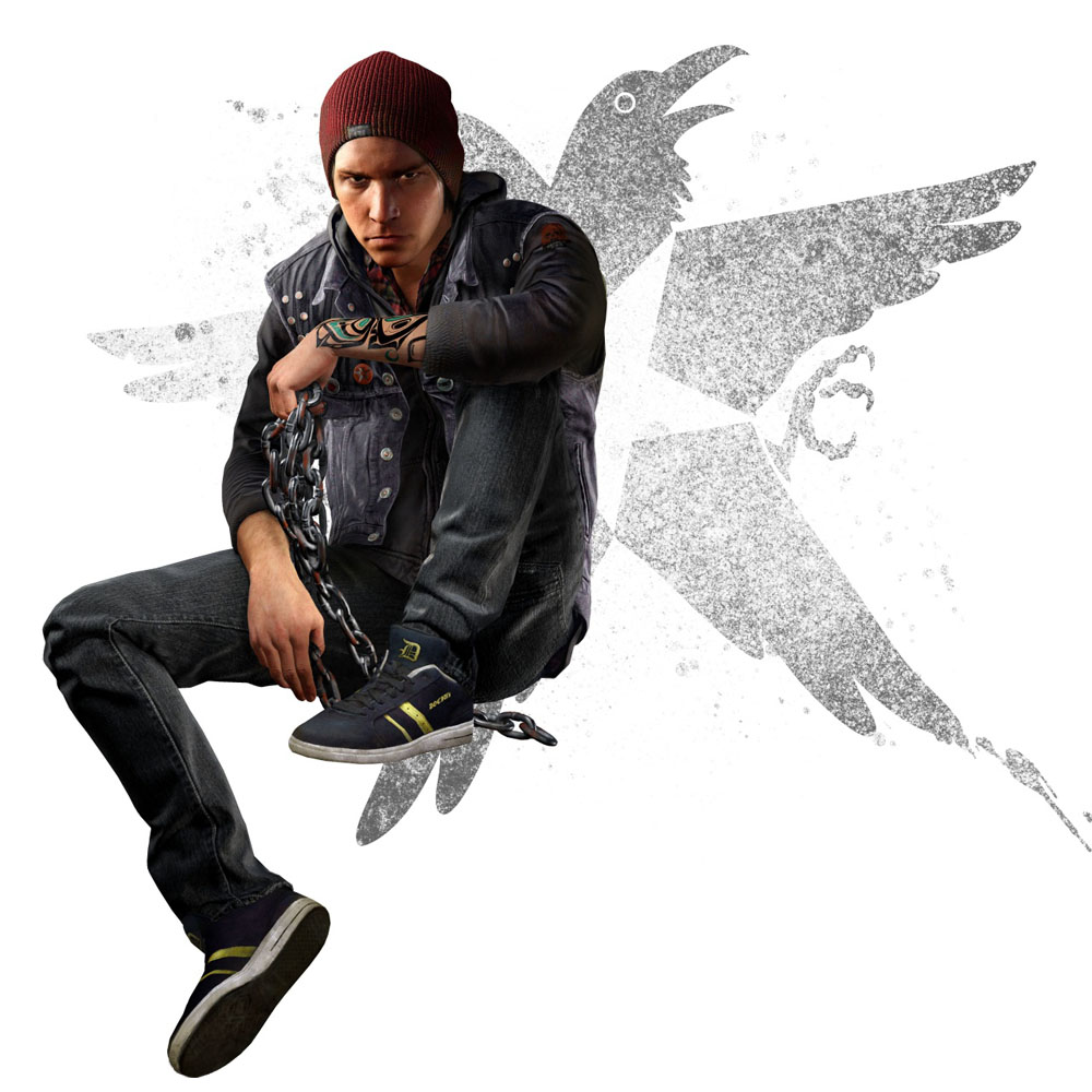 inFamous: Second Son - Delsin Rowe