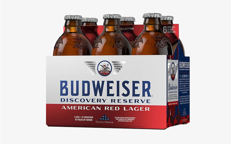 Budweiser Discovery Reserve American Red Lager