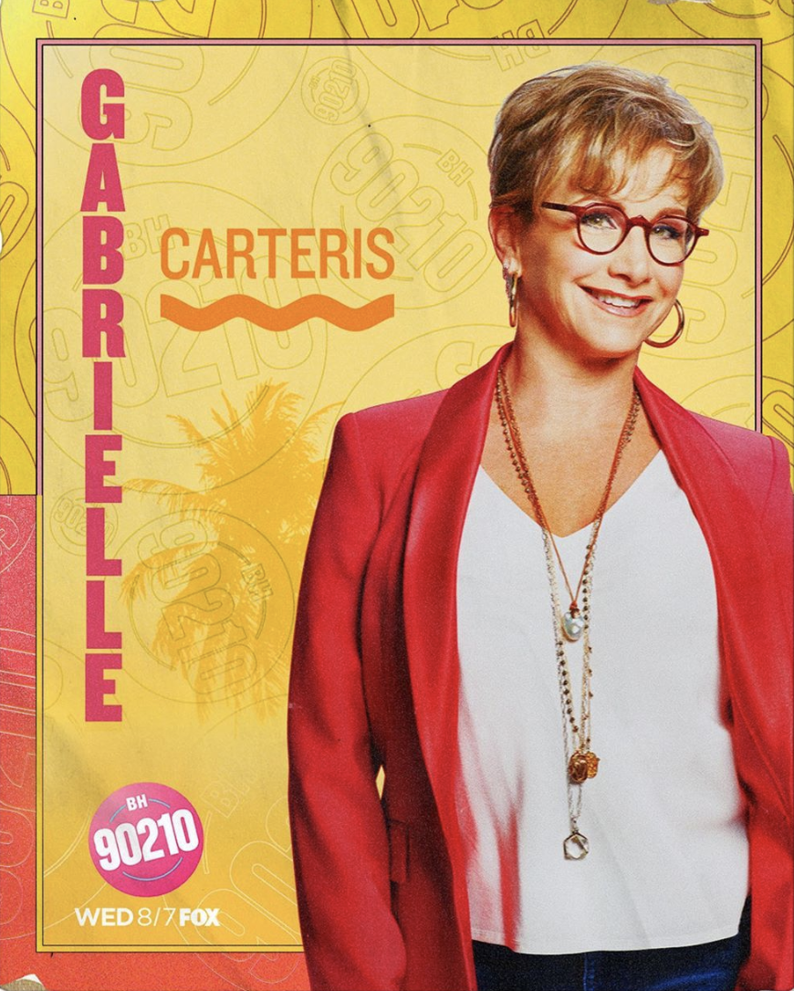 Gabrielle Carteris is Andrea Zuckerman