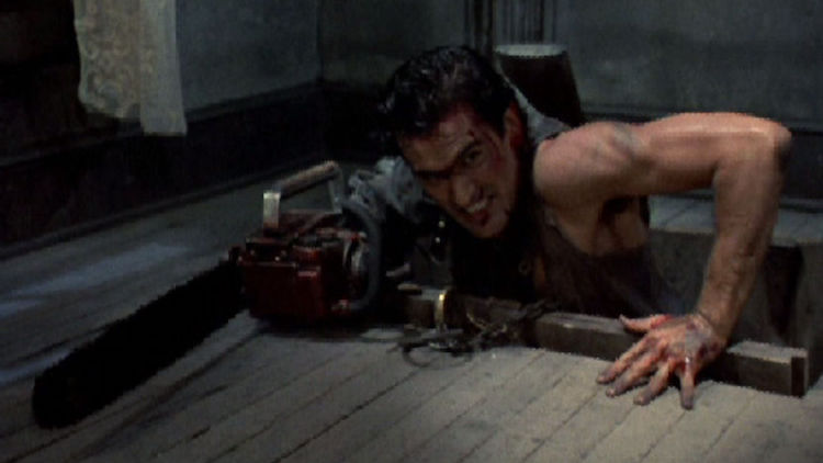 7. Ash's Chainsaw Arm (Evil Dead / Army of Darkness)