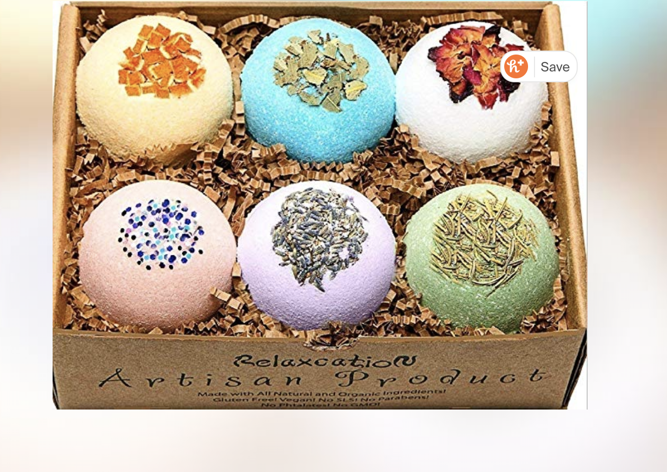 Relaxacation Organic Bath Bomb Gift Set