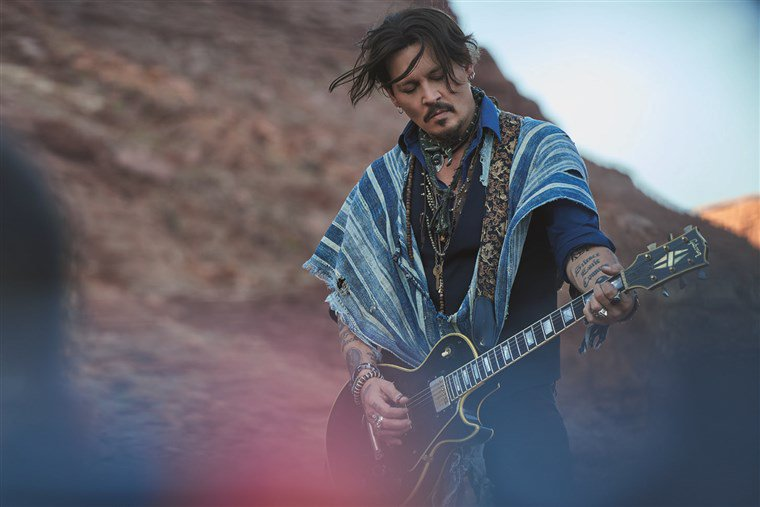 Johnny Depp Can't Catch a Break, Millionaire's Dior Ad Pulled For Cultural Appropriation