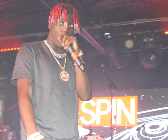 Lil Yachty at the Mazda Studio/Spin Showcase