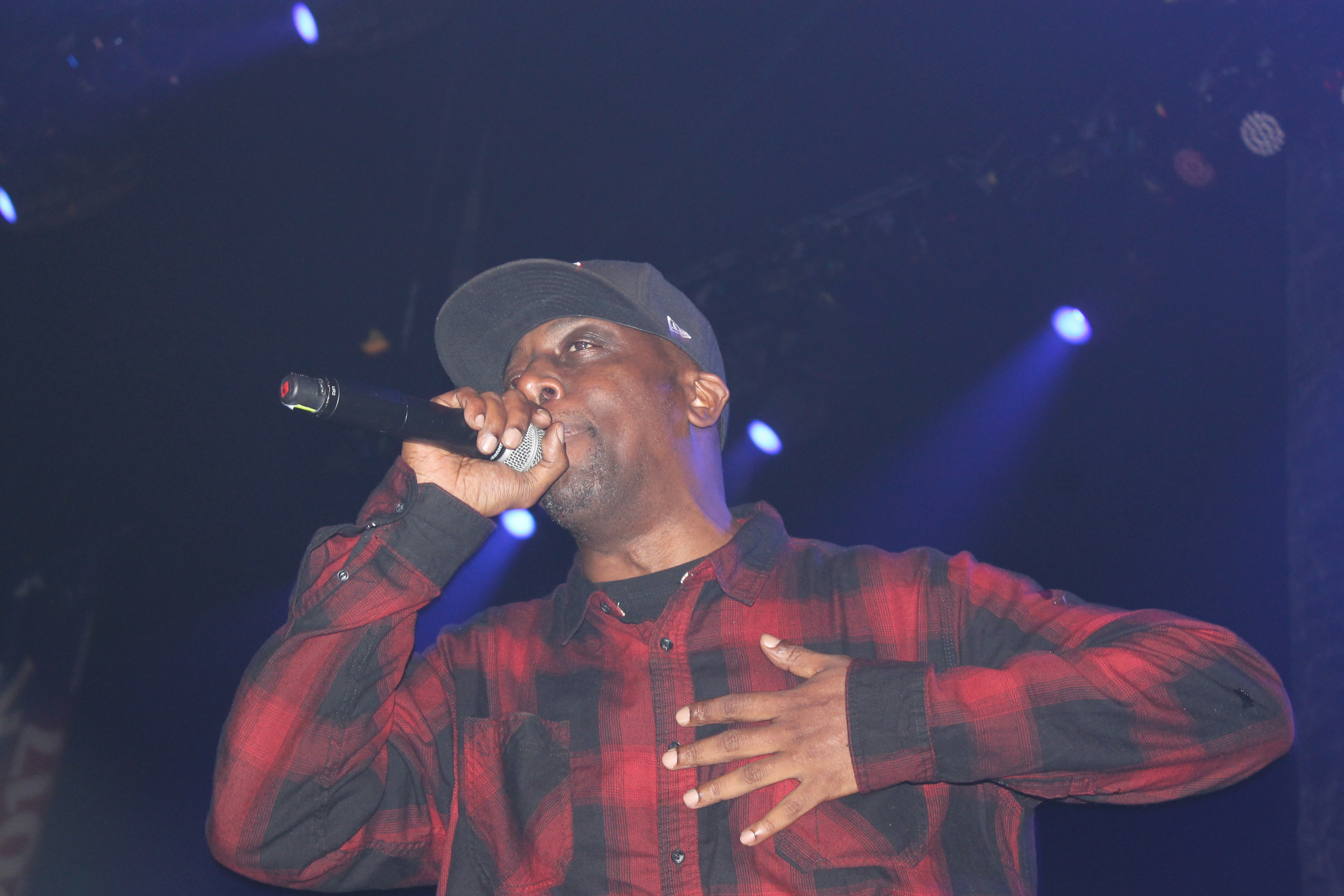 Inspectah Deck of Wu-Tang Clan at DC Events Showcase