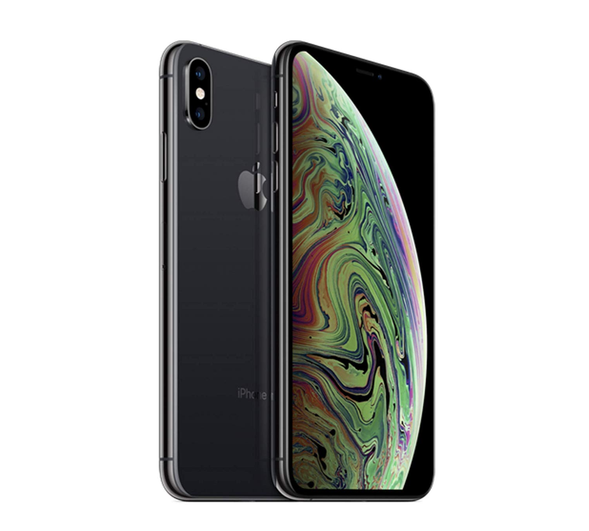 Apple iPhone XS, Fully Unlocked, 256 GB (Renewed)