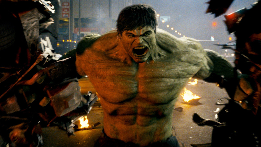 16. The Incredible Hulk (2008)