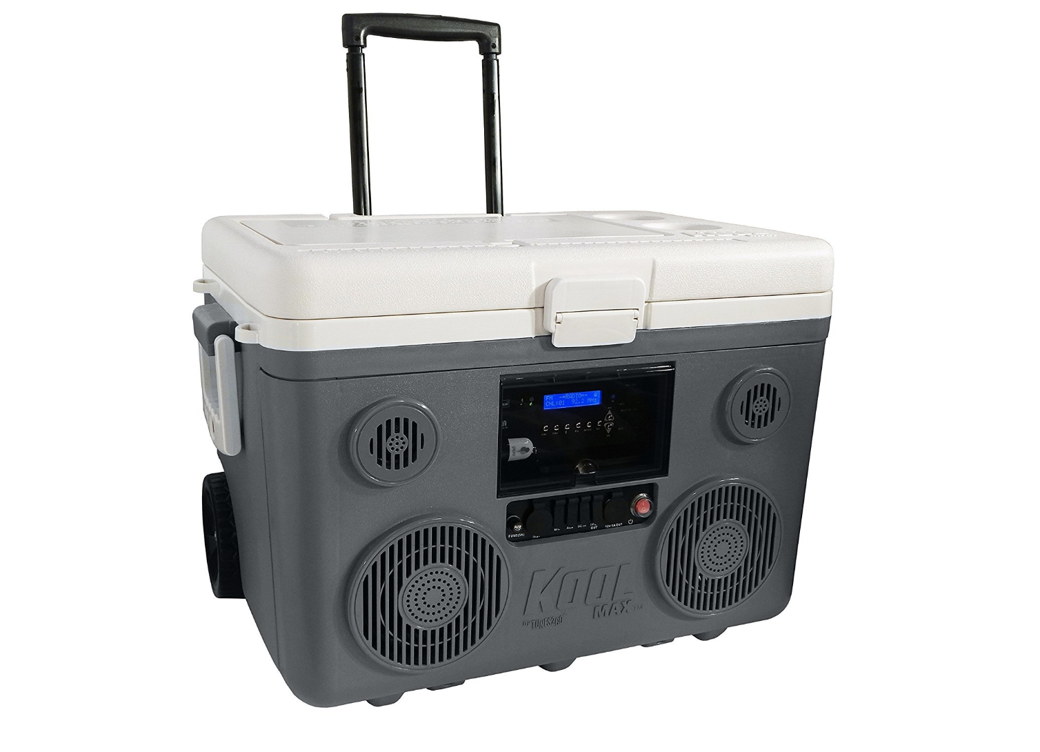 TUNES2GO KoolMAX Cooler Audio System & Power Station