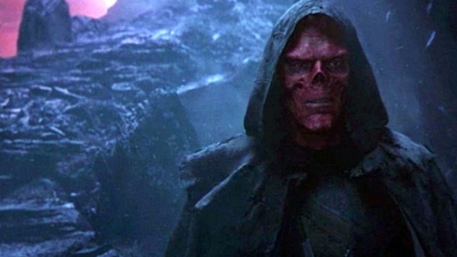 Hugo Weaving And The Red Skull