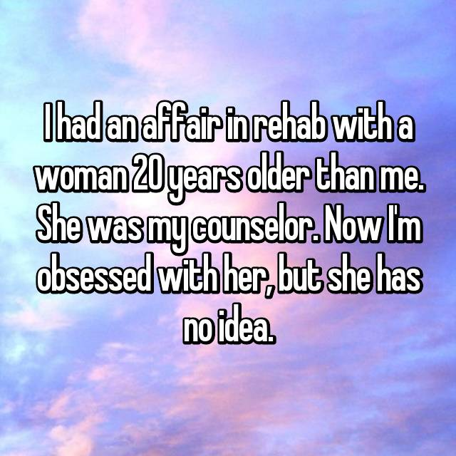 The Older Woman...