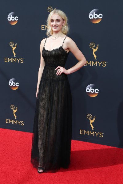 68th Annual Primetime Emmy Awards at the Microsoft TheatreFeaturing: Sophie TurnerWhere: Los Angeles, California, United StatesWhen: 18 Sep 2016Credit: FayesVision/WENN.com
