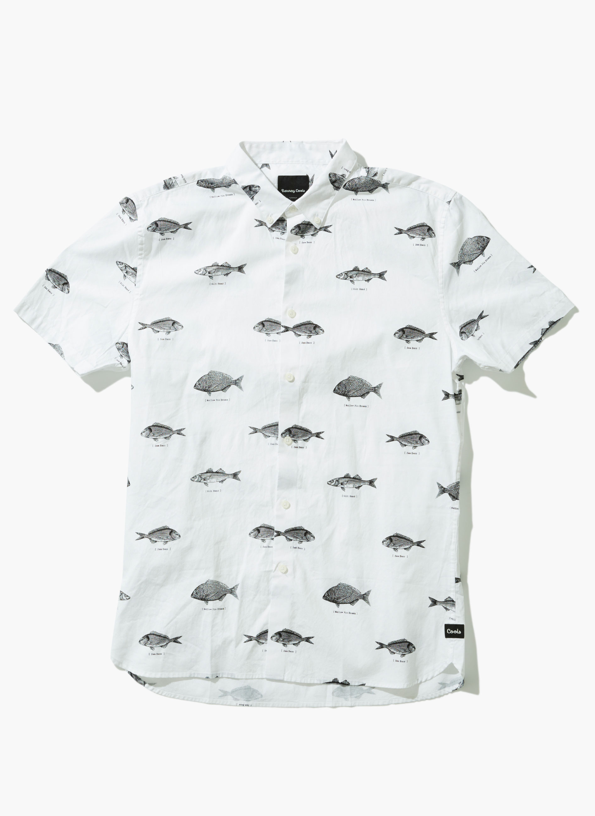 Barney Cools, Fish SS White