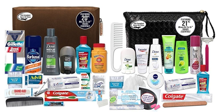 Men's & Women's Convenience Kits