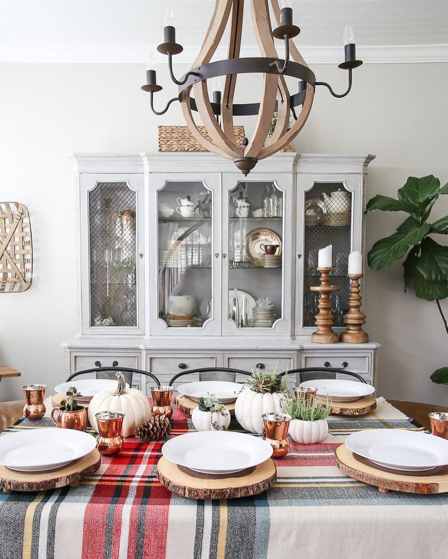 Northwoods Tablescape