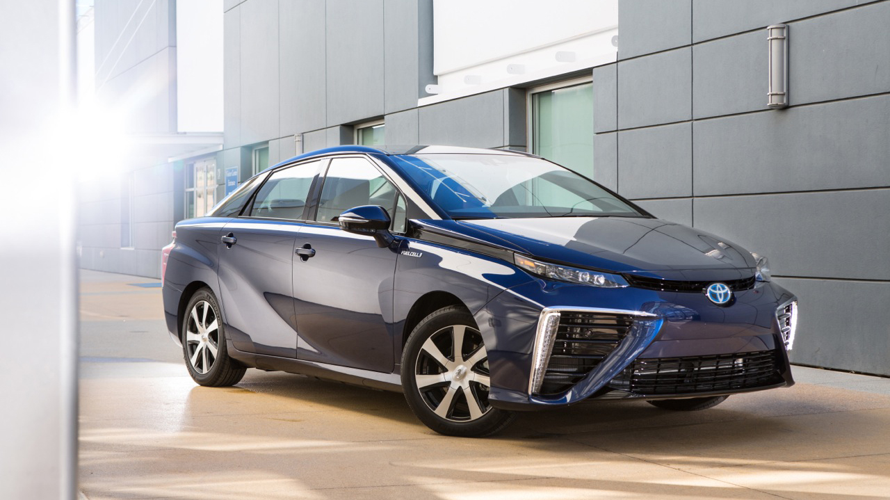 Toyota introduces a hydrogen-powered car.